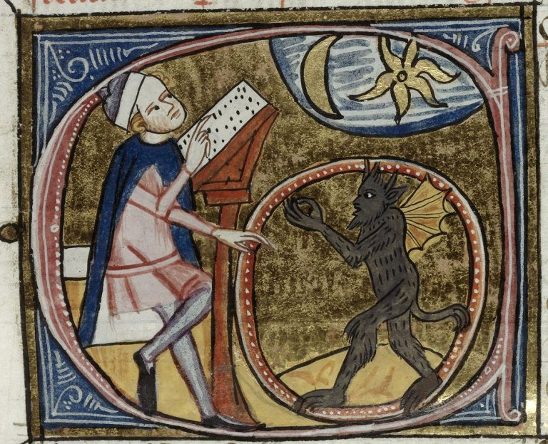 astrologer, gettin help by a demon.jpg